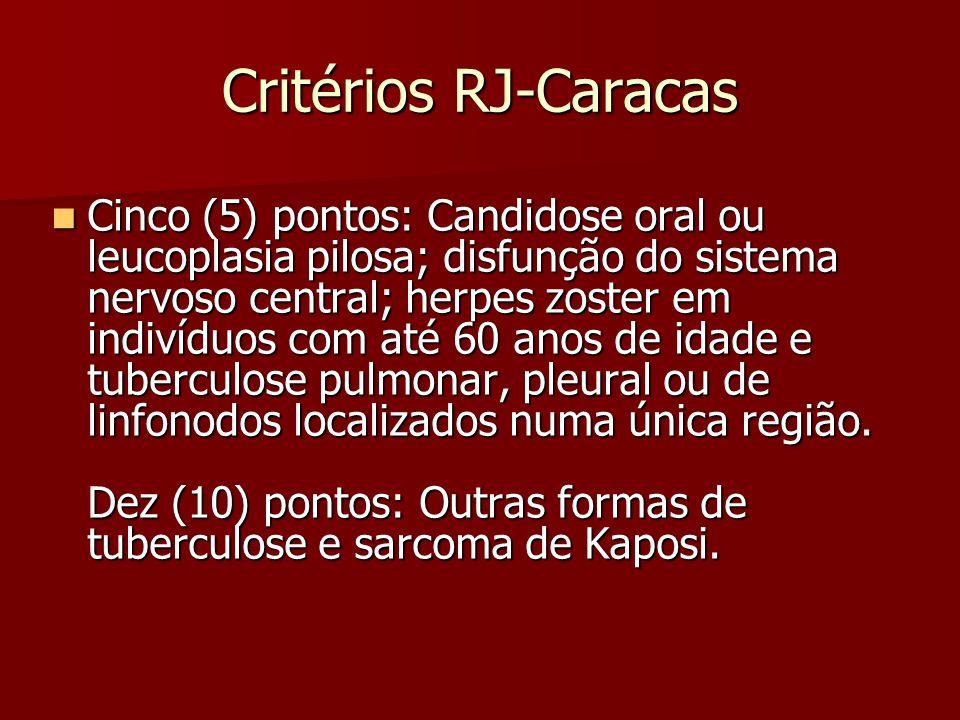 Critérios RJ-Caracas
