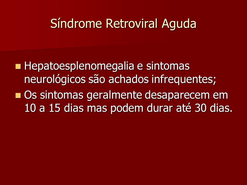 Síndrome Retroviral Aguda