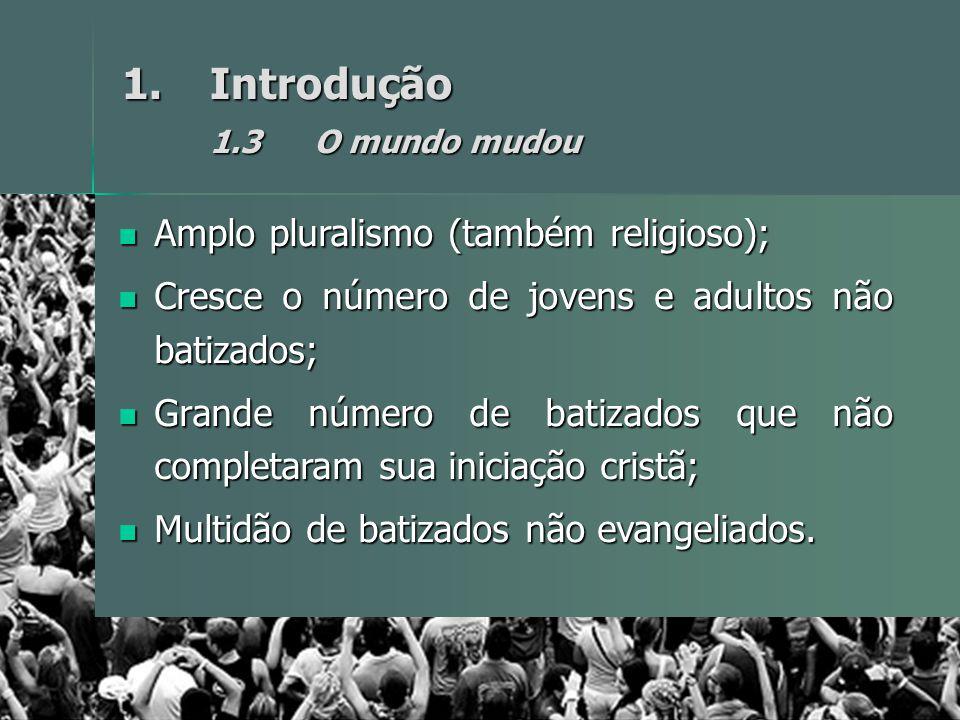 Introdução 1.3 O mundo mudou