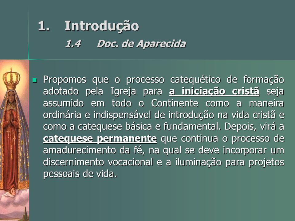 Introdução 1.4 Doc. de Aparecida