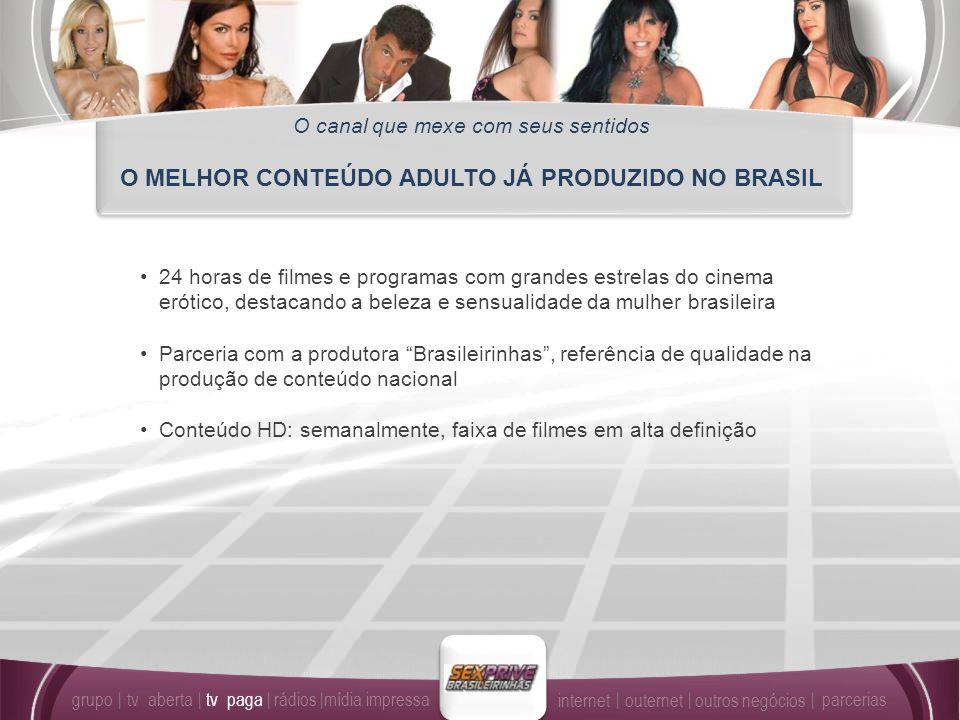 O MELHOR CONTEÚDO ADULTO JÁ PRODUZIDO NO BRASIL