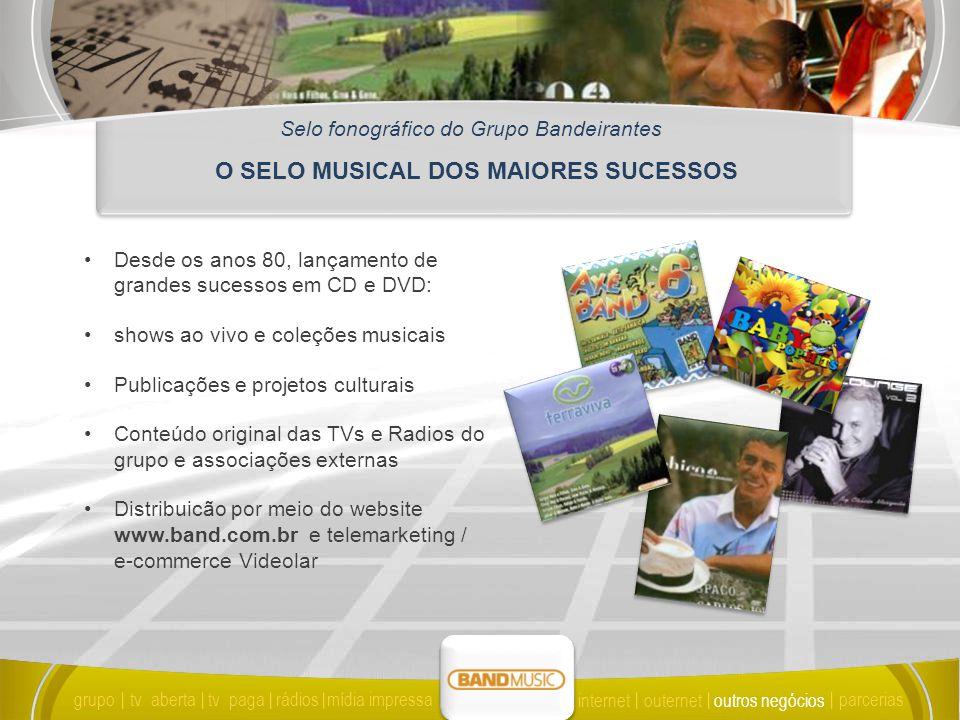 O SELO MUSICAL DOS MAIORES SUCESSOS