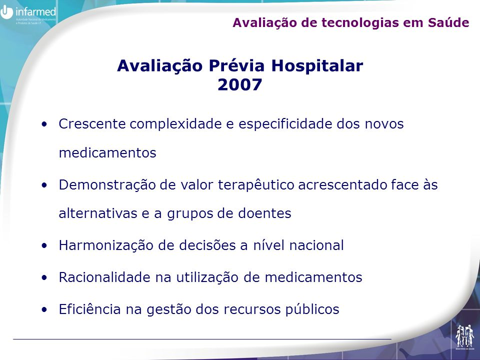 Avaliação Prévia Hospitalar 2007