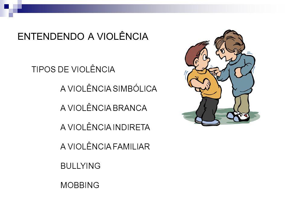ENTENDENDO A VIOLÊNCIA