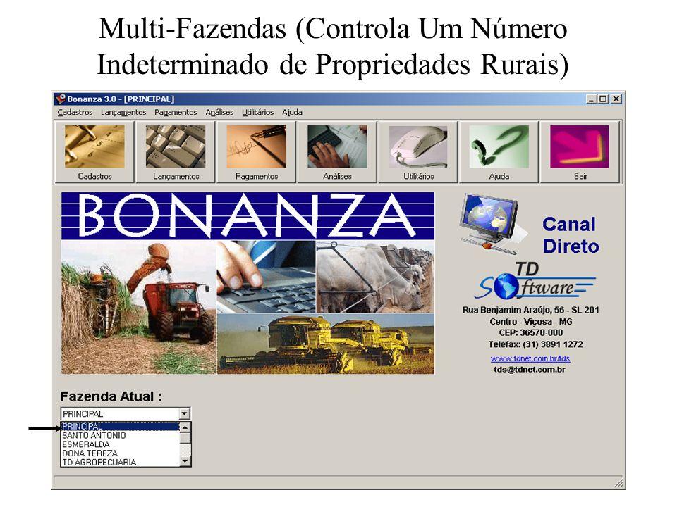 Multi-Fazendas (Controla Um Número Indeterminado de Propriedades Rurais)