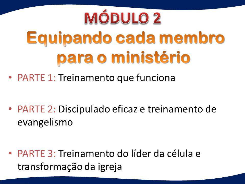Equipando cada membro para o ministério