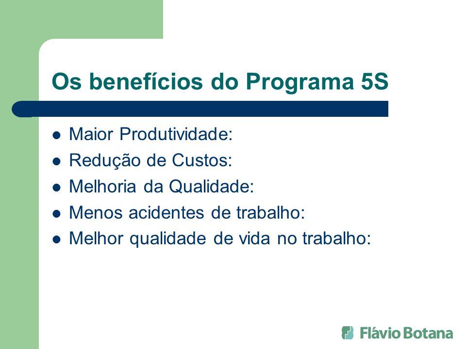 Os benefícios do Programa 5S