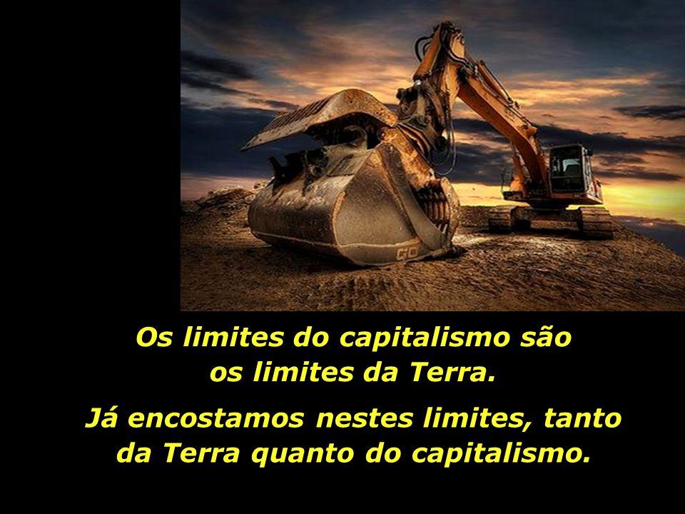Os limites do capitalismo são os limites da Terra.