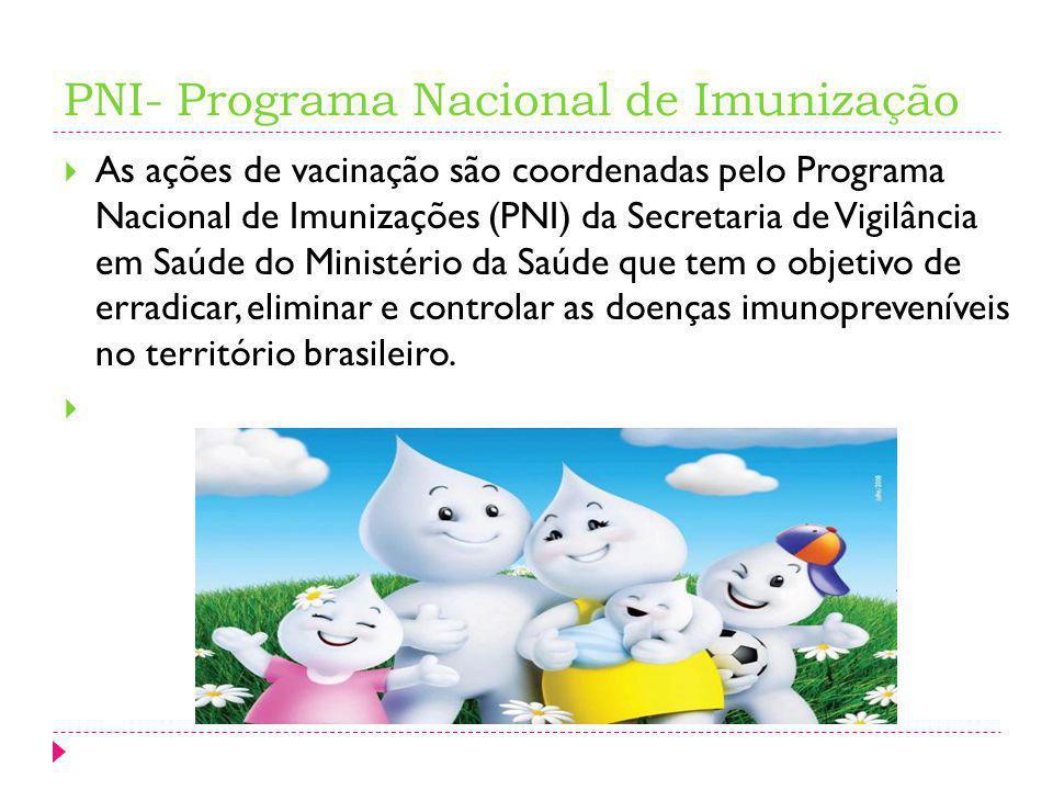 PNI- Programa Nacional de Imunização