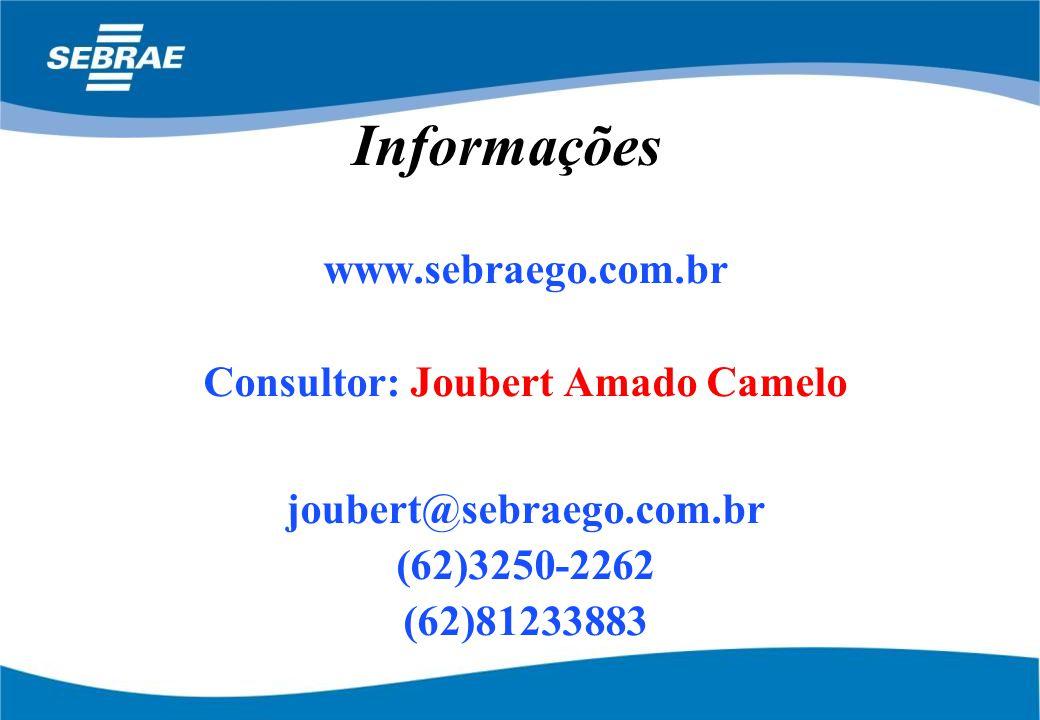 Consultor: Joubert Amado Camelo