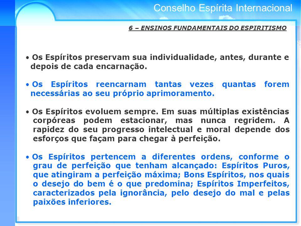 6 – ENSINOS FUNDAMENTAIS DO ESPIRITISMO
