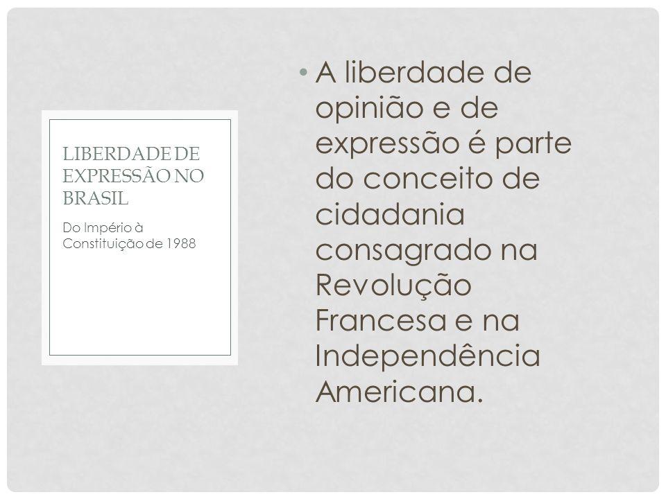 Liberdade de expressão no Brasil
