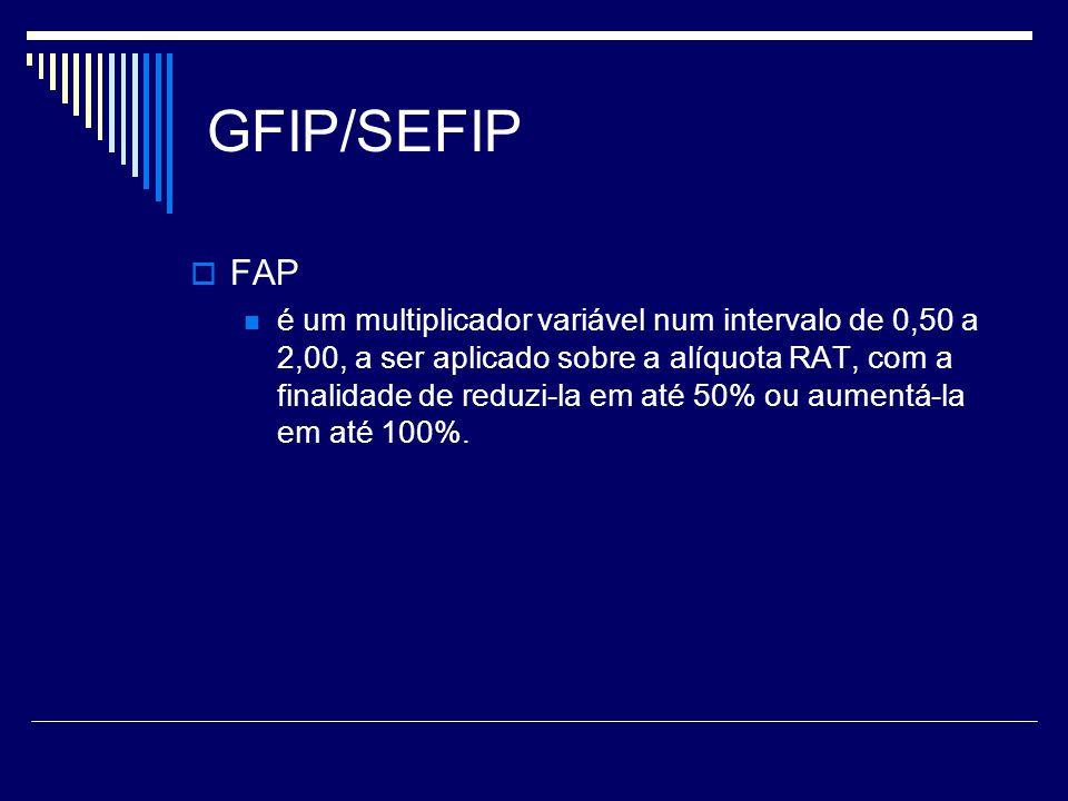 GFIP/SEFIP FAP.