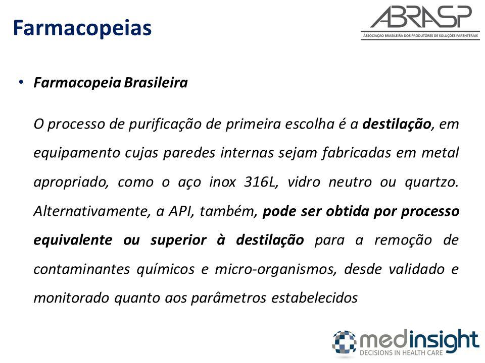 Farmacopeias Farmacopeia Brasileira