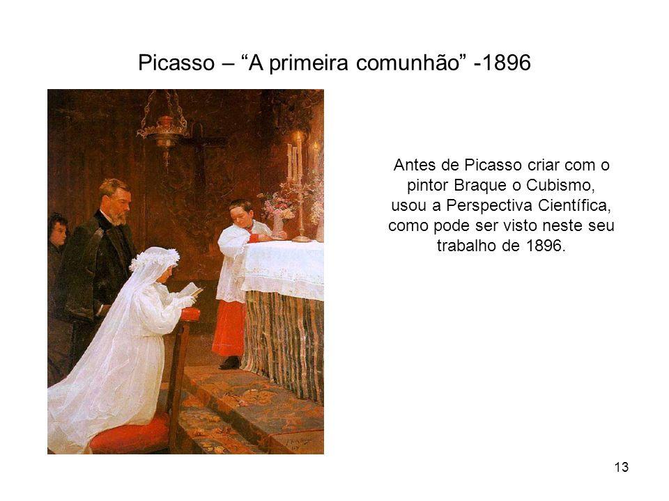 Picasso – A primeira comunhão -1896