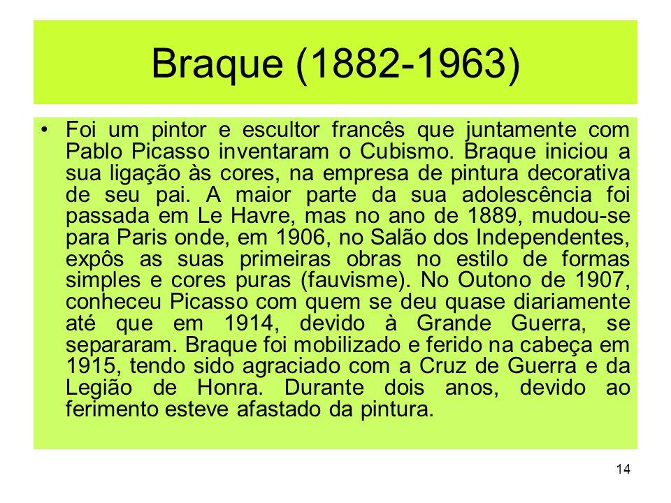 Braque (1882-1963)