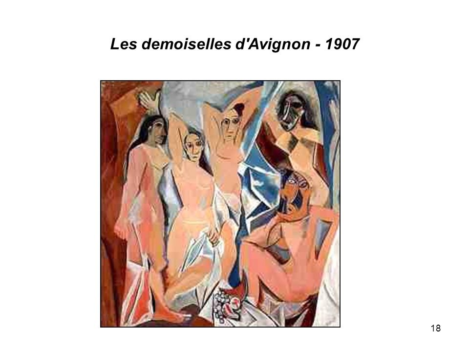 Les demoiselles d Avignon - 1907