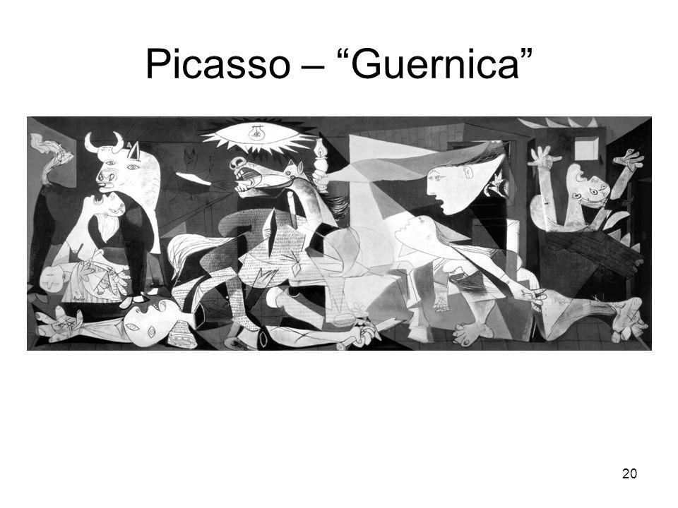 Picasso – Guernica