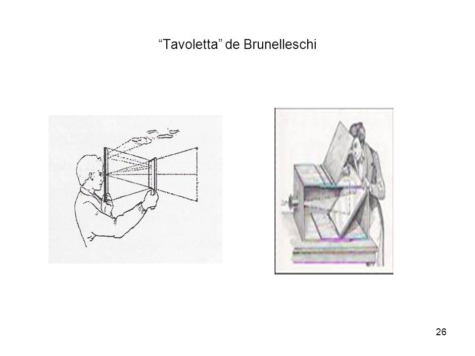Tavoletta de Brunelleschi