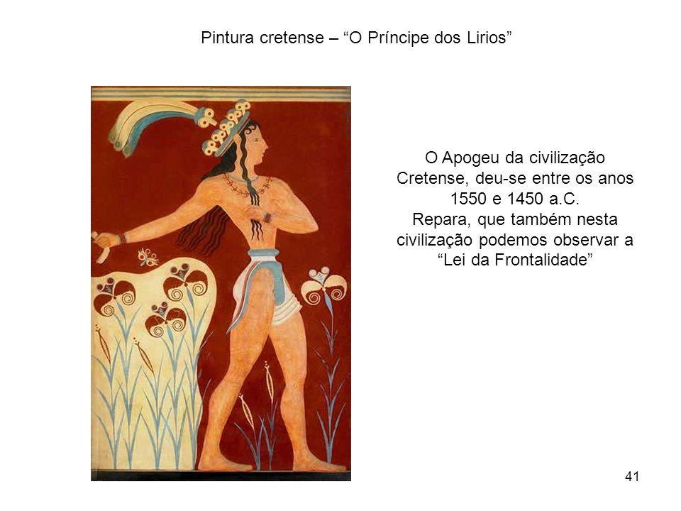 Pintura cretense – O Príncipe dos Lirios