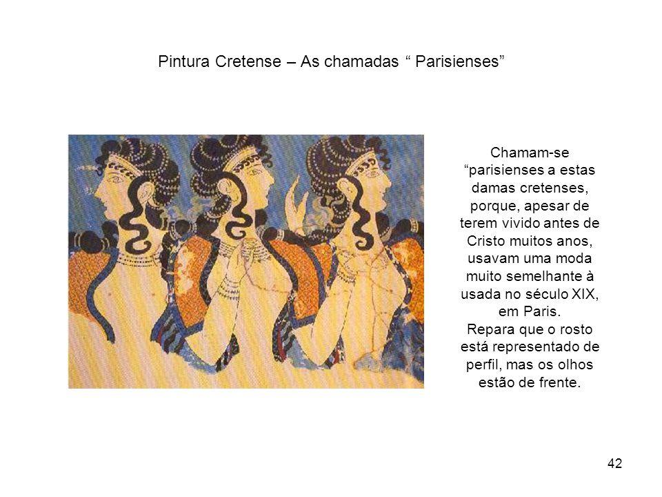 Pintura Cretense – As chamadas Parisienses