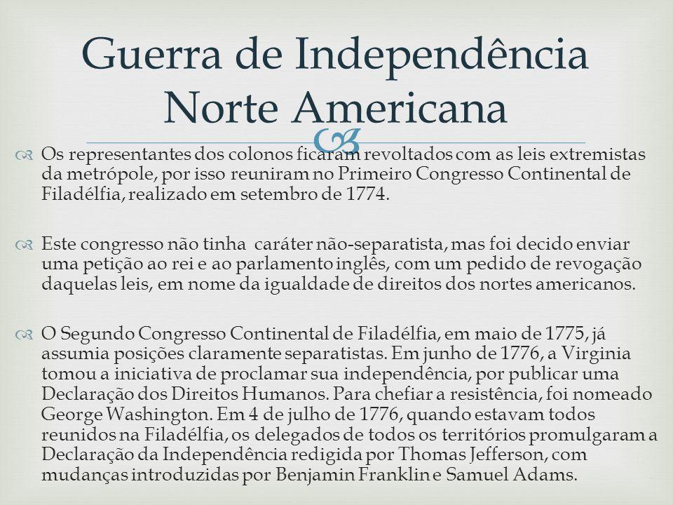 Guerra de Independência Norte Americana