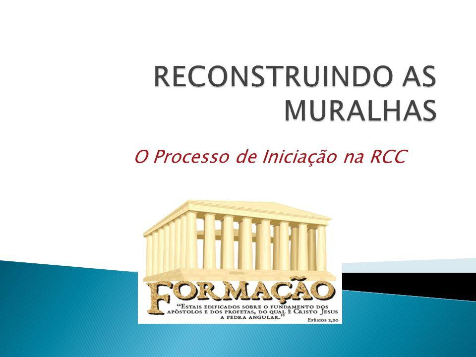 RECONSTRUINDO AS MURALHAS