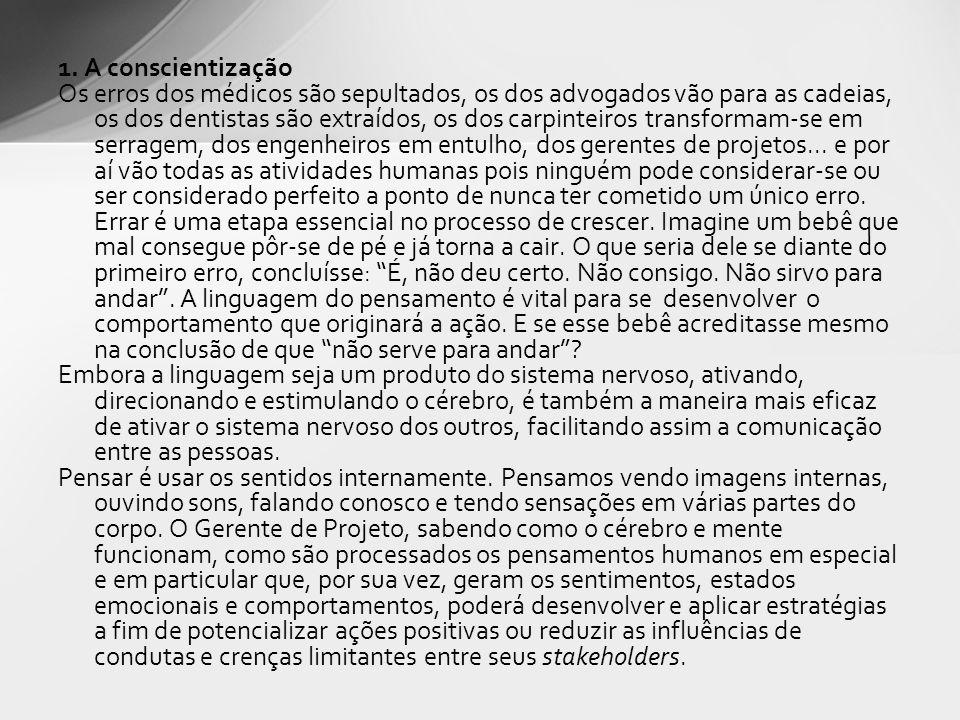1. A conscientização