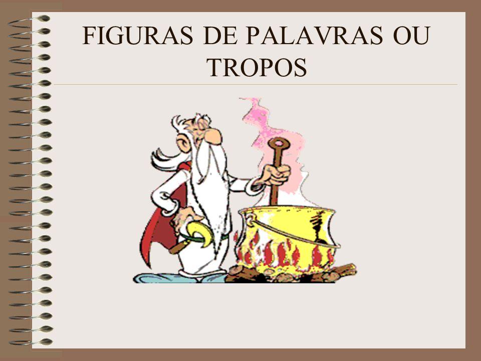 FIGURAS DE PALAVRAS OU TROPOS