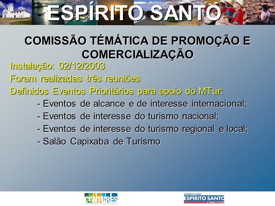 COMISSÃO TÉMÁTICA DE PROMOÇÃO E COMERCIALIZAÇÃO
