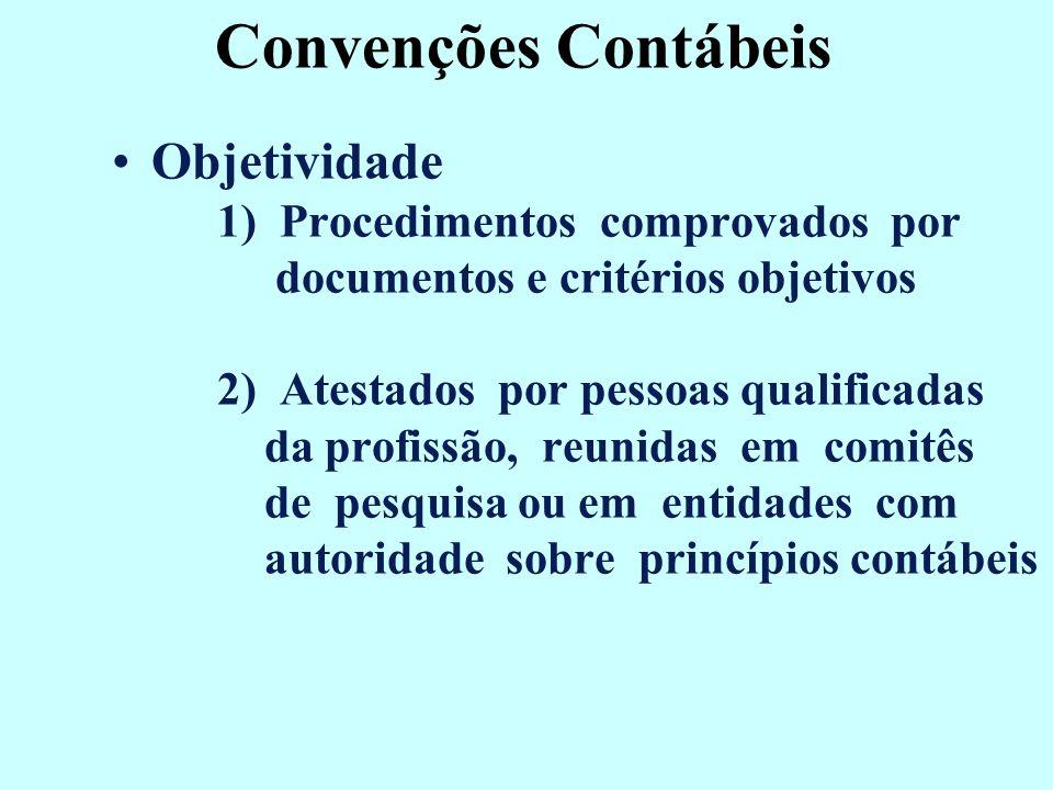 Convenções Contábeis