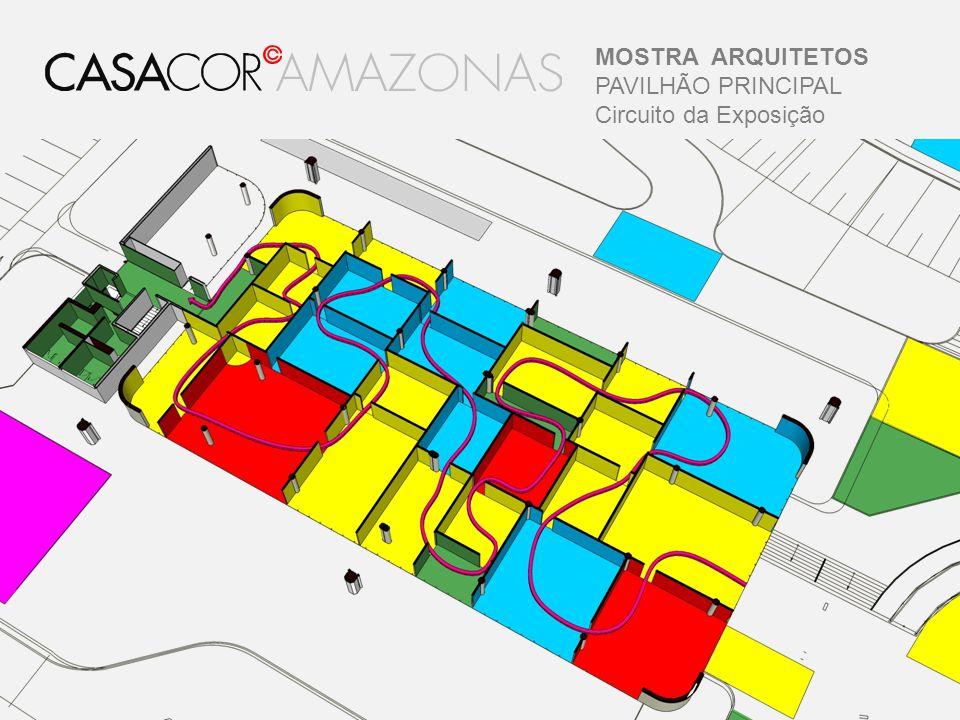 MOSTRA ARQUITETOS PAVILHÃO PRINCIPAL Circuito da Exposição
