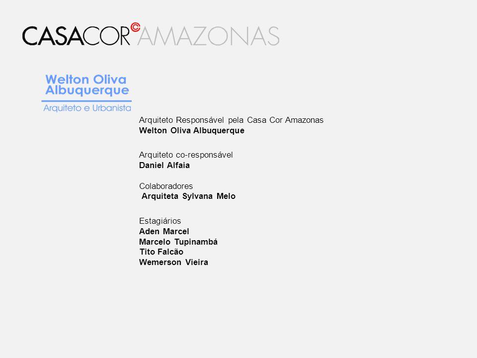 Arquiteto Responsável pela Casa Cor Amazonas
