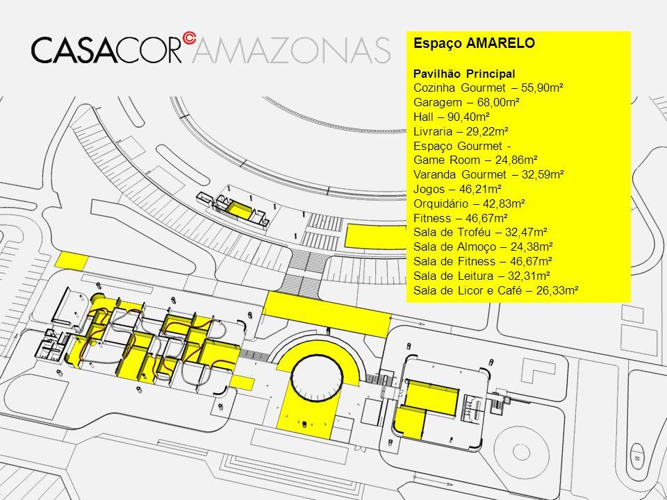 Espaço AMARELO Pavilhão Principal Cozinha Gourmet – 55,90m²