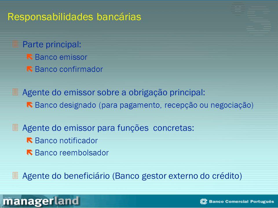 Responsabilidades bancárias