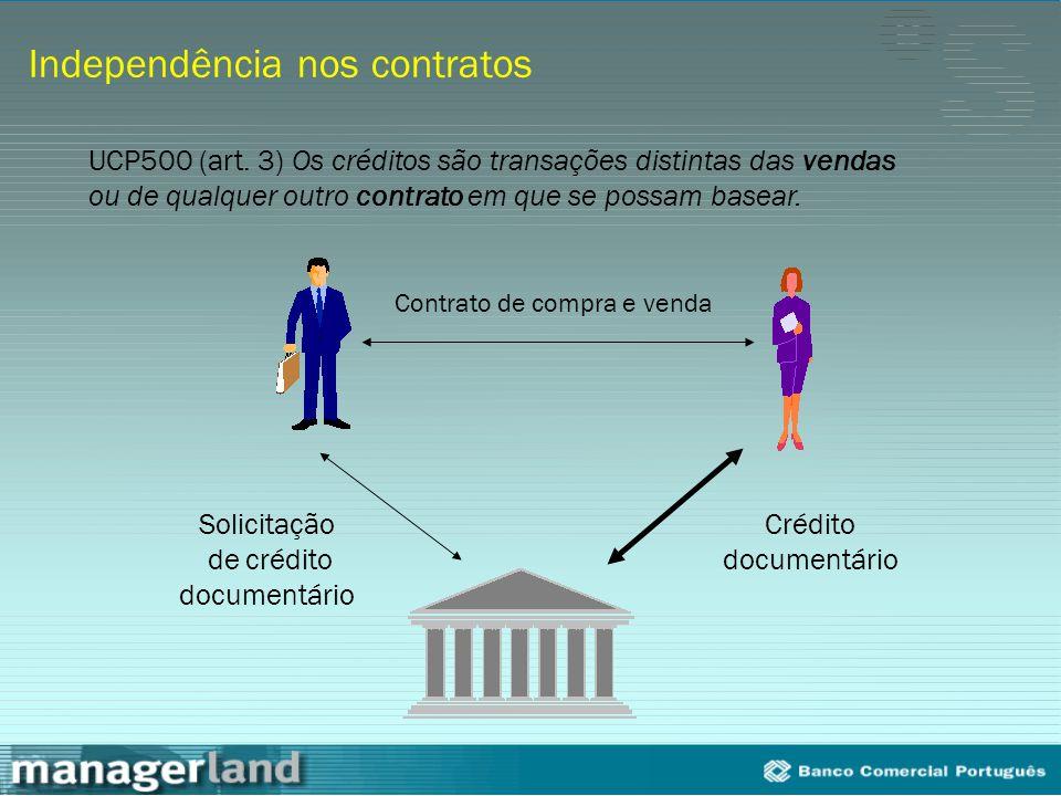 Independência nos contratos