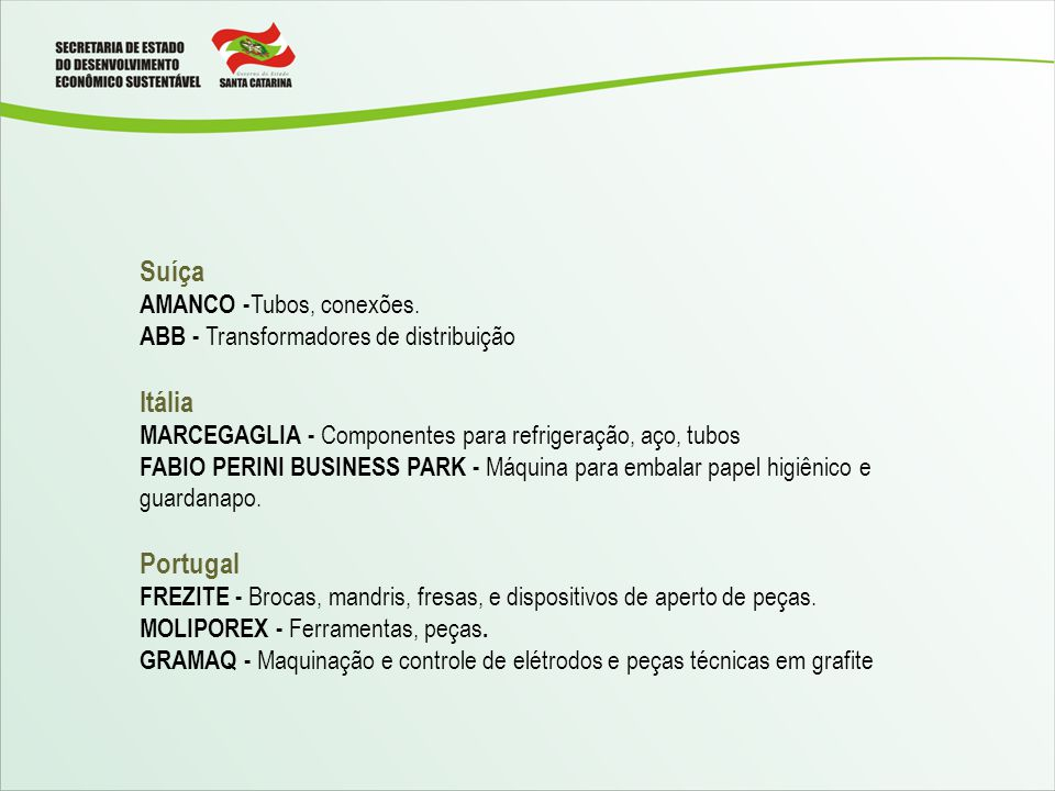 Suíça Itália Portugal AMANCO -Tubos, conexões.