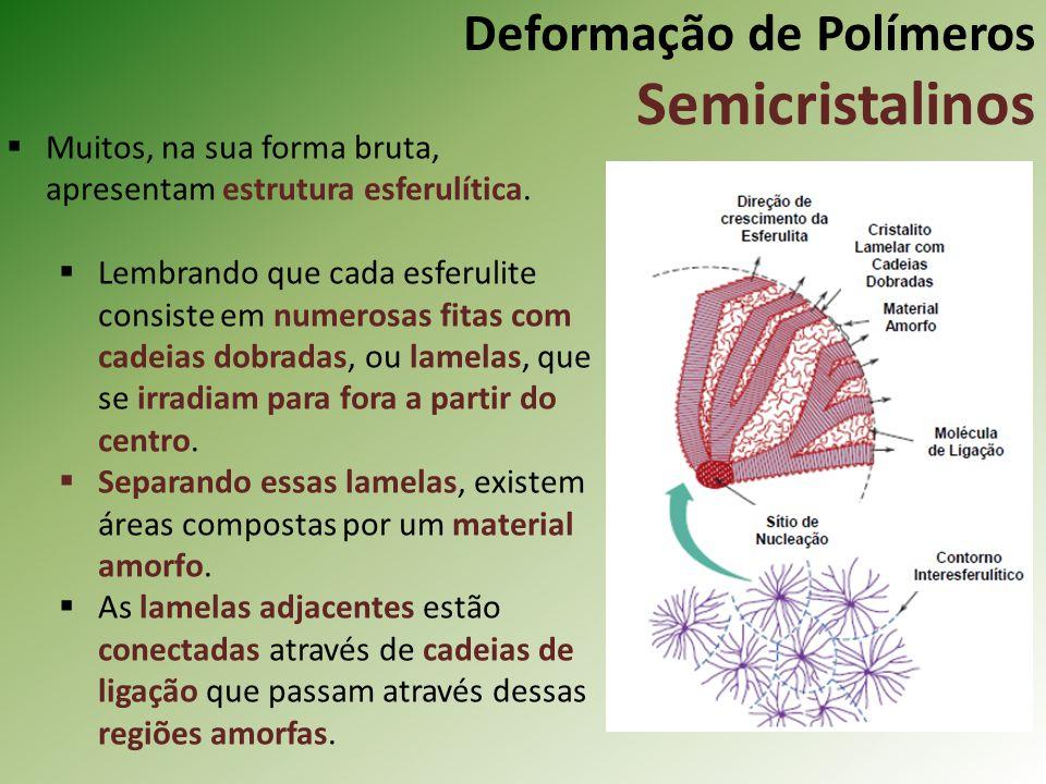 Deformação de Polímeros Semicristalinos