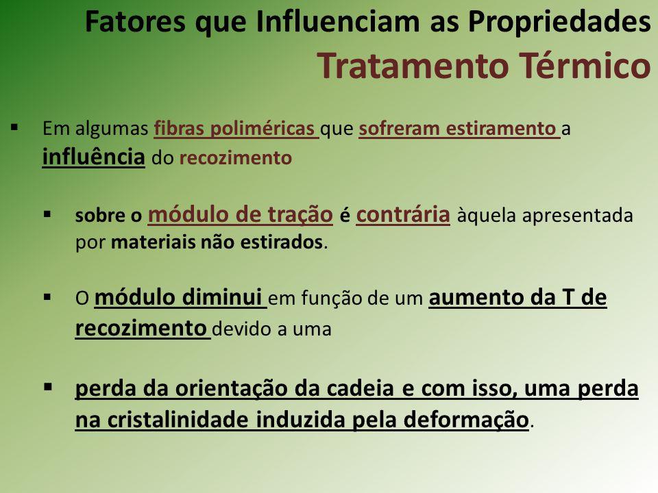 Fatores que Influenciam as Propriedades Tratamento Térmico