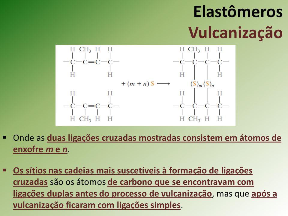 Elastômeros Vulcanização