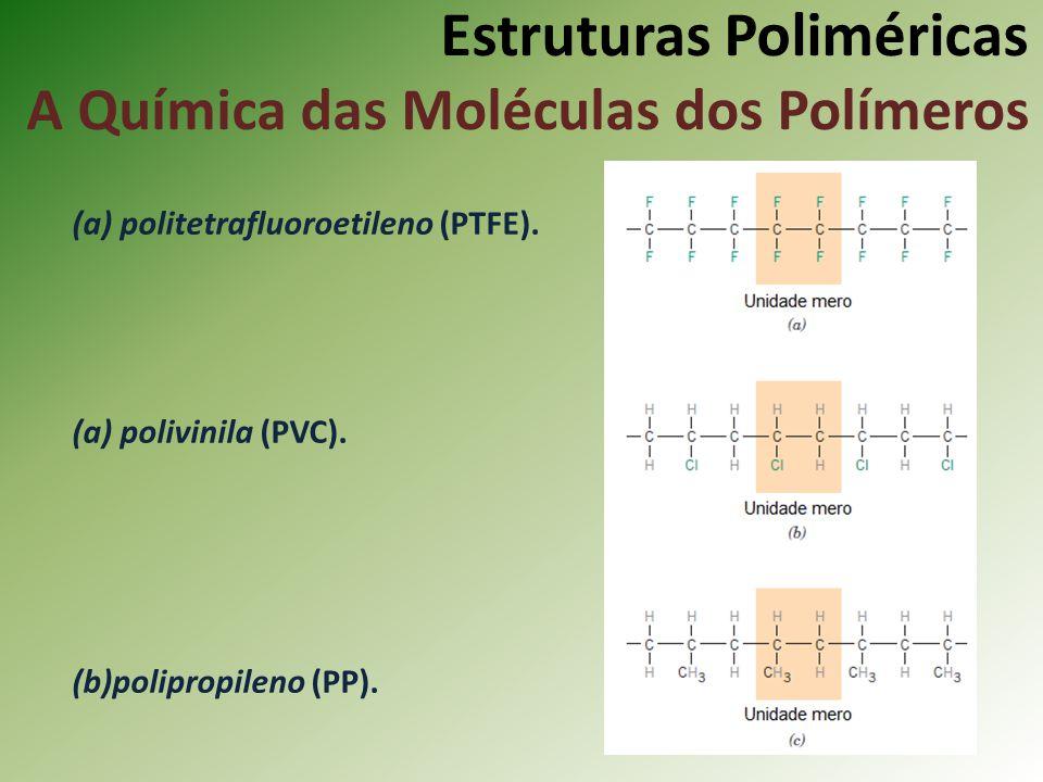 Estruturas Poliméricas A Química das Moléculas dos Polímeros
