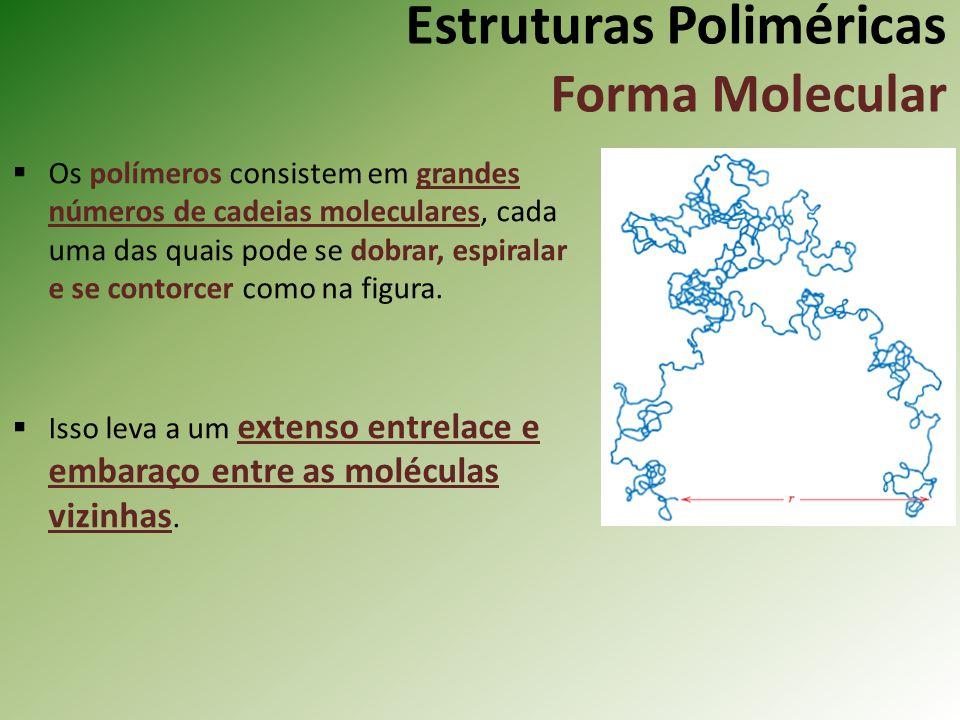 Estruturas Poliméricas Forma Molecular