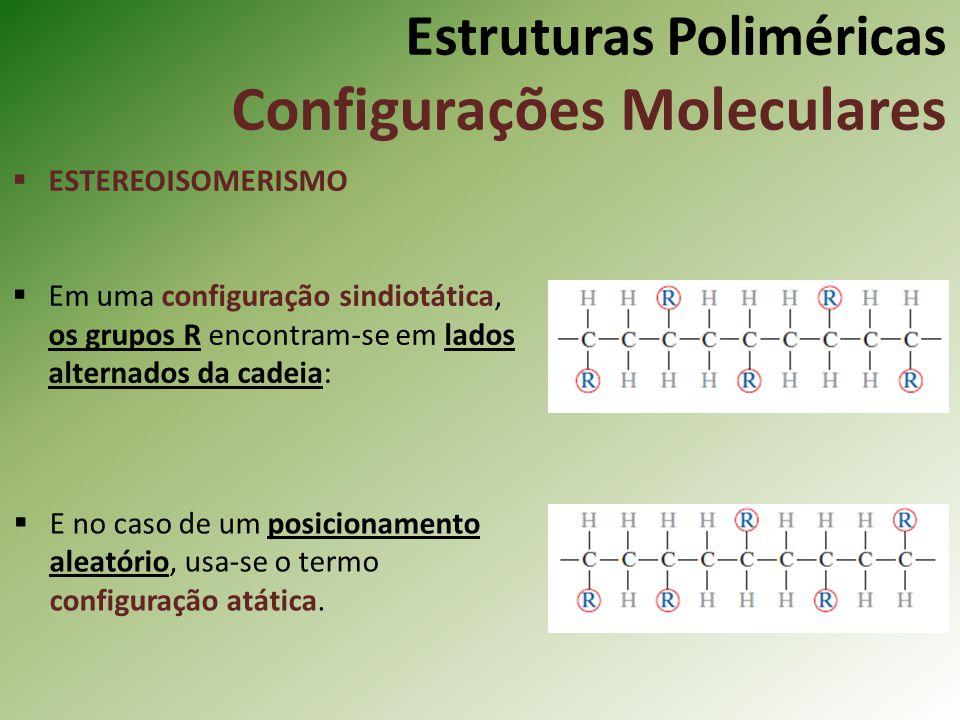 Estruturas Poliméricas Configurações Moleculares