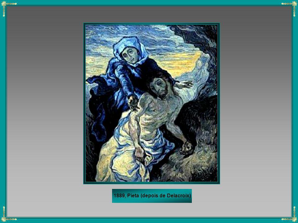 1889, Pieta (depois de Delacroix)