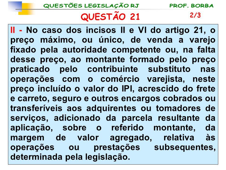 QUESTÃO 21 2/3.