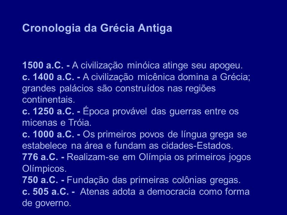 Cronologia da Grécia Antiga
