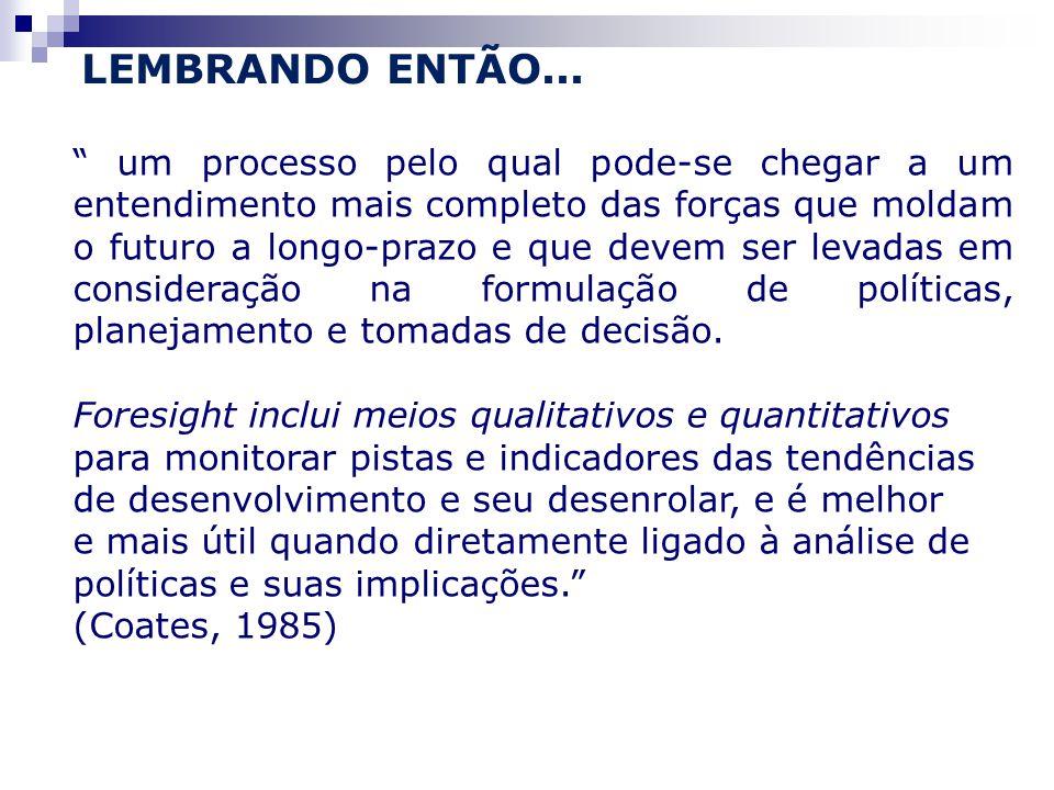 LEMBRANDO ENTÃO...