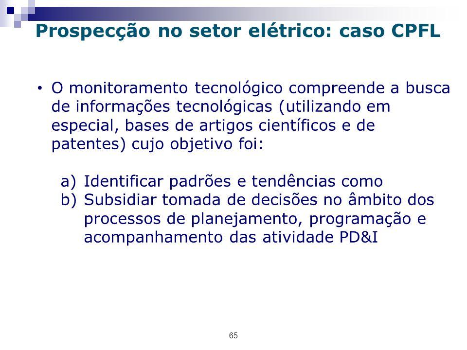 Prospecção no setor elétrico: caso CPFL