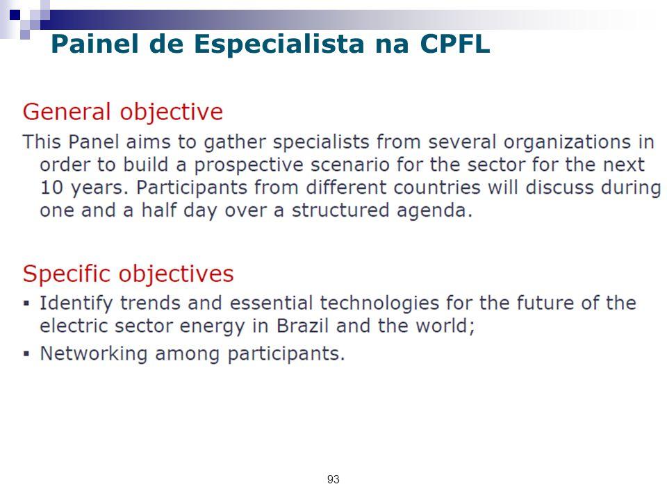 Painel de Especialista na CPFL