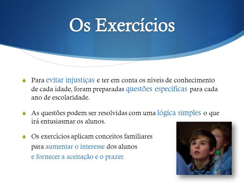 Os Exercícios
